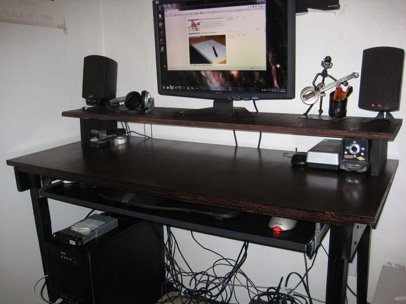 Photo Computer Desk